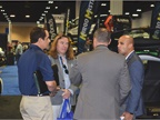 Brian Patnoe (far left), national account manager, fleet operations,