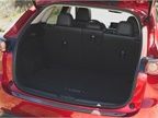With all seats upright, the 2017 CX-5 has 30.9 cubic feet of cargo