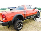 Though not available for testing, the Ram Power Wagon was displayed