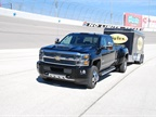 The 2017 Silverado HD equipped with the Duramax 6.6L turbo-diesel can