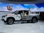 Honda Ridgeline, the official truck of the NHL.