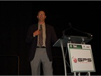 Jeff Castillo of Monsanto presents the opening night keynote on the