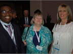 In addition to formal presentations, there were several networking