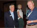 BBM Founder and Publisher Ed Bobit (left) spends time with Cliff