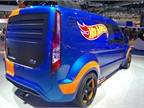 The Transit Connect Hot Wheels upfit evoked the iconic toy brand from