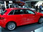 Audi s plug-in electric hybrid A3 Sportback e-tron.