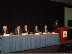 Levi McCoy of LeasePlan and IARA president (far right) moderated a