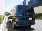 The van offers a maximum payload of 1,500 pounds for towing