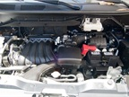 The NV200 offers a 2.0L inline four cylinder mated to a CVT.
