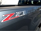 The Z71 option provides a modified suspension for off-road driving.