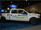 Compressed natural gas (CNG) Ford F-150, modified by Westport