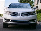 Lincoln s split-wing grille has been reworked so it presents a more