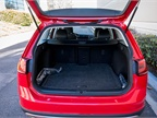 The Golf Alltrack offers 30.4 cubic feet of storage area and 66.5