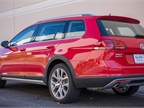 The Golf Alltrack offers an EPA-rated 25 mpg in the city and 30 mpg on