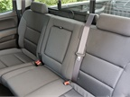 A rear bench seat splits in a 60/40 configuration.