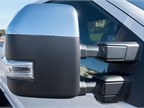 Power-folding side-view mirrors include power and heated glass with