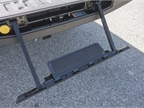 Buyers can add a retractable tailgate step.