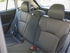 Rear seats fold down in a 60/40 configuration.