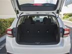 The cargo area provides 20.8 cubic feet of storage.