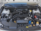A 2.0L four-cylinder Boxer engine powers the car.
