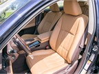 Lexus has dubbed this interior color Flaxen.