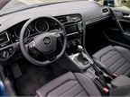 Easily identifiable steering wheel controls include cruise control and