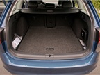 The vehicle provides 30.4 cubic feet of storage area behind the rear