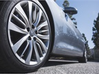 The G80 is fitted with 19-inch alloy wheels.