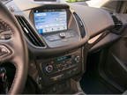 The 2017 Escape pairs the SYNC 3 system with SYNC Connect, which is