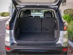 With seats folded down, the Escape offers cargo space of 68 cubic feet