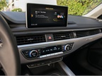 Audi s 2017 A4 offers a fixed navigation screen rather than a