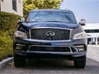 The QX80 gets an EPA-rated 13 mpg in the city and 19 mpg on the