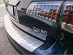 The QX80 offers a feature known as rear automatic self-leveling