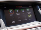 An 8-inch touchscreen provides control of various driver-selectable