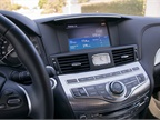 The Q70 s infotainment system includes a CD player and navigation that