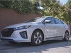 The mid-size Ioniq Electric is the second of three electrified Hyundai