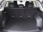Cargo area comes in at 22.7 cubic feet and between 53.6 to 62.7 cubic