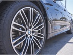 The M Sport package adds 19-inch alloy wheels.