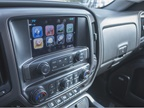 The GMC IntelliLink audio system displays on an 8-inch screen.