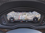 The Q5 adds the Virtual Cockpit feature that allows drivers to view a