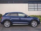 The 2018 Q5 Quattro is 183.6 inches in length.