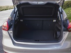 The hatchback offers 23.3 cubic feet behind the rear seats, which can