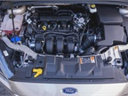 This Focus is powered by a 2.0L inline-four cylinder engine.
