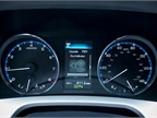The multi-informational display available on the driver dashboard