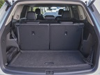 With both rows in the seating position, the Atlas offers 21 cubic feet