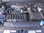 The 3.6L VR6 makes 238 hp.