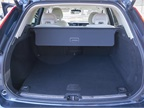 The XC60 has 22.4 cubic feet of cargo space behind the rear seats and