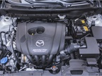 The SkyActiv-G 2.0L four-cylinder (146 hp) carries over from 2017.