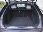 A cavernous cargo area has plenty of room for luggage.