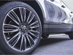 This Velar rides on 22-inch wheels.